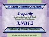 3.NBT.2 Jeopardy Game 3rd Grade Math 3 NBT.2 Add & Subtract Within 1,000