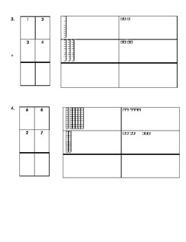 3NBT.2 Regrouping with Addition Homework/Classwork-beginning level