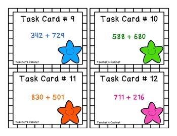 3.NBT.2 Task Cards