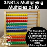 3.NBT.3 -Task Cards, Assessments, Centers and More