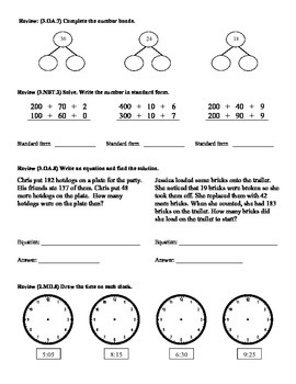 (3.NBT.3)Multiply by multiples of 10-3rd Grade Math Worksheets-2nd 9 Weeks