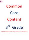 3.NBT.A.1, 3.NBT.A.2, 3.NBT.A.3 Third Grade Common Core Math Worksheets