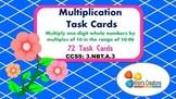3.NBT.A.3 Multiplication Task Cards (Single Digit by Multi