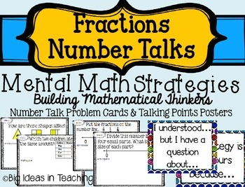 3.NF Fraction Math Number Talks