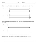 3NF.1 3NF.2 Introducing Fractions on a Number Line