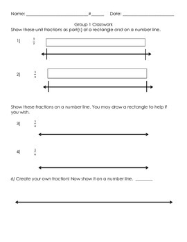 3NF.2 Introducing Fractions on Number Line 1.1