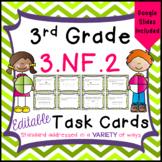 Fractions on a Number Line Task Cards - 3.NF.2