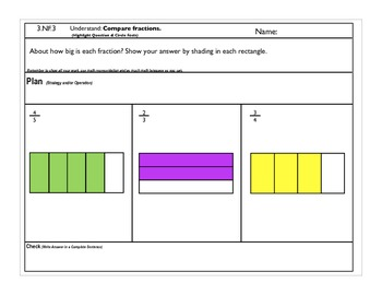 3.NF.3 Compare two fractions.