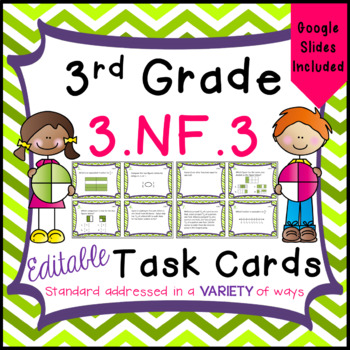 Equivalent Fractions & Comparing Fractions - 3.NF.3