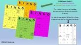 3O TASK CARDS & 30 UNIQUE BINGO CARDS FOR EQUATIONS ( VARI