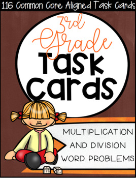 3OA CCSS Standard Based Task Card Bundle - Includes All 9 OA Standards