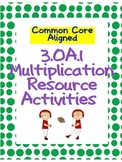 3.OA.1 Multiplication Review Pack {Common Core!}