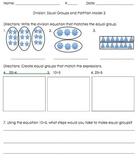 3OA.2, 3OA.3 Division Strategy: Equal Groups