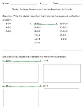 3OA.2, 3OA.3 Division Strategy: Repeated Subtraction