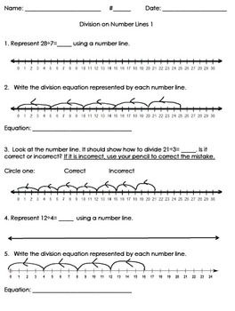 3OA.2, 3OA.3 Division Strategy: Number Lines 1