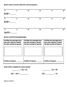 (3.OA.2) Interpret Quotients-3rd Grade Common Core Math Worksheets   1st 9 Weeks