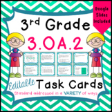 Division Task Cards - 3.OA.2