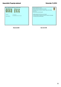 3.OA.5 Associative Property Grade 3