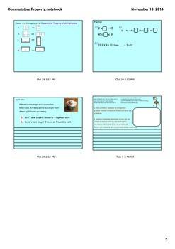 3.OA.5 Commutative Property