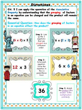 "3.OA.5 ""Scaffolding the Associative Property of Multiplication"""
