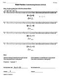 (3.OA.6) Understanding Division-3rd Grade Common Core Math Worksheet 2nd 9 Weeks