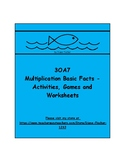 3OA7 - Multiplication Basic Facts - Activities, Games and Worksheets