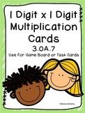 3.OA.7 Multiplication Task Cards