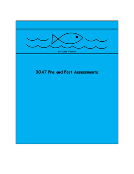 3OA7 Pre and Post Assessment Bank
