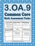3.OA.9 Math Assessment Tasks