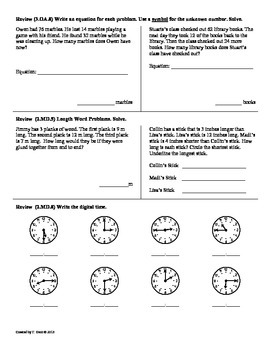 (3.OA.9) Function Machines-3rd Grade Common Core Math Worksheets-  2nd 9 Weeks