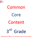 3.OA.A.2 Third Grade Common Core Math Worksheets with word problems  3.OA.2