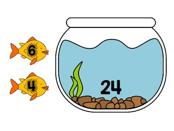 3.OA.B.5, 3.OA.C.7 - Fishy Number Bonds! A Multiplication & Division Math Center