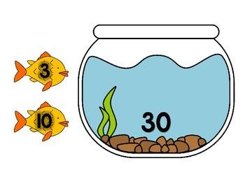 3.OA.B.5, 3.OA.C.7 - Fishy Number Bonds! A Multiplication & Division Math Center