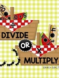 3.OA.B.5, 3.OA.C.7 - Pick'nic to Divide or Multiply!