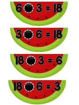 3.OA.B.5, 3.OA.C.7 - Pick'nic to Divide or Multiply!