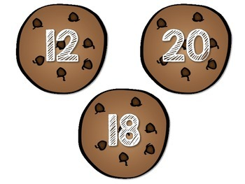 3.OA.B.5, 3.OA.C.7 - Smart Cookie Clip Cards! Math Center FREEBIE!