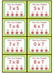 3.OA.C.7 - Poke the Product with 7 as a Factor! Multiplication Poke Cards