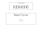 3PC Komodo Dragon Bahasa Indonesia and English