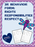3R Form - Rights, Responsibility, and Respect
