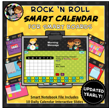 Everyday Interactive Calendar & Organizers for SMART Board