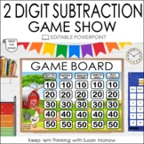 2 DIGIT SUBTRACTION POWERPOINT GAME SHOW   NO PREP   JEOPA