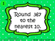 3RD GRADE DIFFERENTIATED ROUNDING TASK CARDS