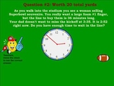 3RD GRADE MATH CCSS SUPERBOWL INTERACTIVE GAME~ SMARTBOARD ~ TEST PREP
