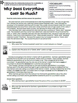 3rd Grade Personal Finance/ Financial Literacy Unit (ALL 3.9 TEKS)