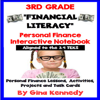 3rd Grade Personal Finance/ Financial Literacy Unit (ALL 3.9 TEKS)