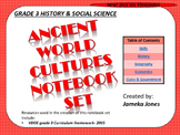 UPDATED! NEW 2015 STANDARDS- 3RD GRADE (VA)- Social Studies Notebook Set