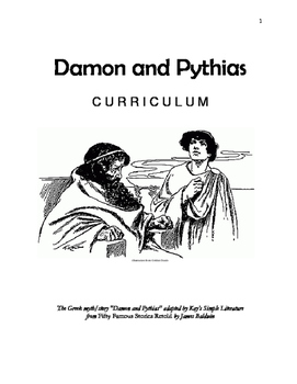 3SL - Damon and Pythias Curriculum - Short Story Study