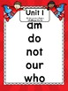 3c3. Kinder Super Reader HFW Posters (Reader's Theater, Vocabulary, Decodable)