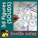 3d Figures Doodle Note Set