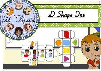 3d Shape Dice